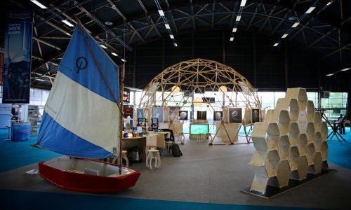 Le stand de Plankton Planet à l'expo La Mer XXL de Nantes